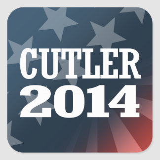 CUTLER 2014 SQUARE STICKERS