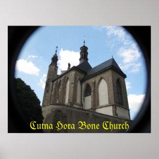 Cutna Hora Bone Church - Poster