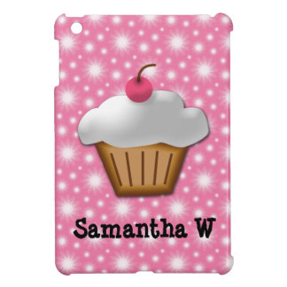 Cutout Cupcake with Pink Cherry on Top Case For The iPad Mini