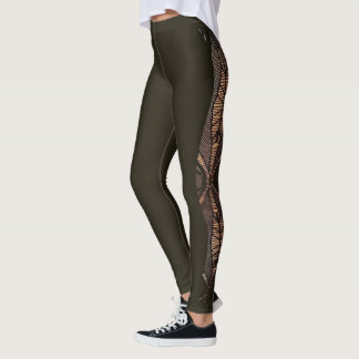 Cutout design leggings