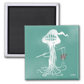 cuts green magnet scary jellyfish