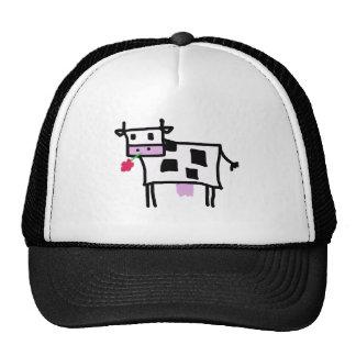 cutsie square cow cap