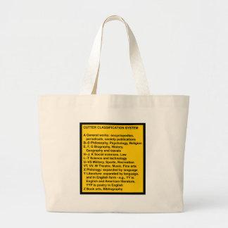 Cutter Expansive Classification Canvas Bag