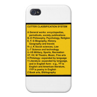 Cutter Expansive Classification iPhone 4 Case