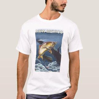 Cutthroat Trout FishingNew Mexico T-Shirt