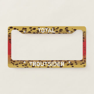 Cutthroat Trout License Plate Frame