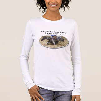 cutting horse long sleeve T-Shirt