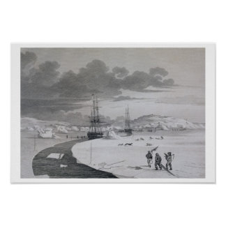 Cutting into Winter Island, October 1821, from 'Jo Poster