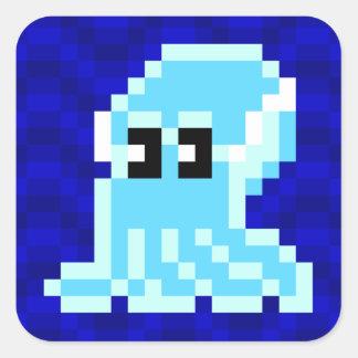 Cuttle Scuttle blue cuttlefish Joe sticker sheet