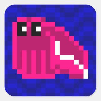 Cuttle Scuttle Mimi pink cuttlefish sticker sheet