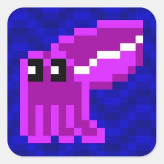 Cuttle Scuttle purple cuttlefish sticker sheet