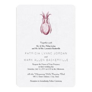 Cuttlefish Letterpress Style Card
