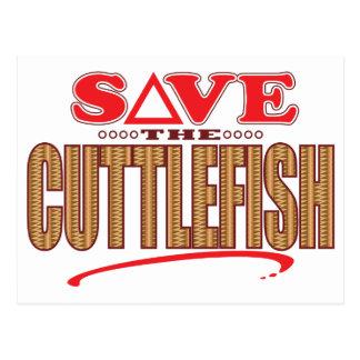 Cuttlefish Save Postcard