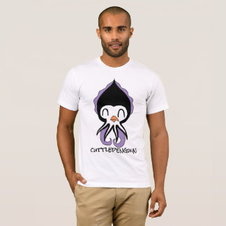 """CUTTLEPENGUIN""(penguin+cuttlefish) Men's Tshirt"