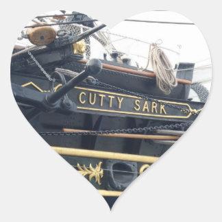 Cutty Sark Heart Sticker