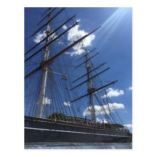 Cutty Sark London UK Boat Photo Postcard