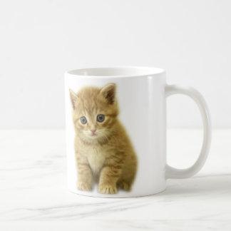 Cuty Little Cat! Basic White Mug