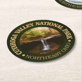 Cuyahoga Valley National Park Round Paper Coaster