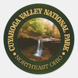 Cuyahoga Valley National Park Round Sticker