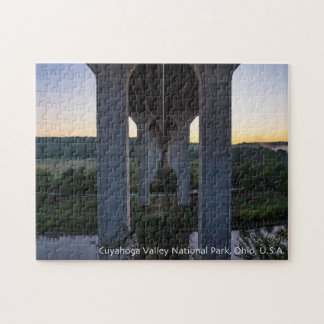 Cuyahoga Valley Puzzle with Gift Box