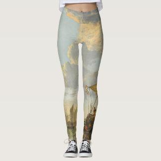 Cuyp's The Maas art leggings