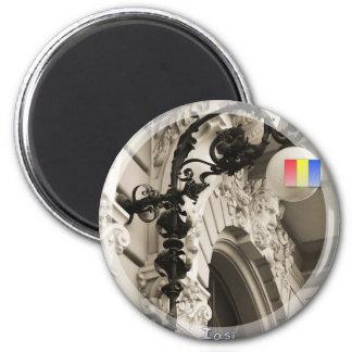 Cuza University 6 Cm Round Magnet