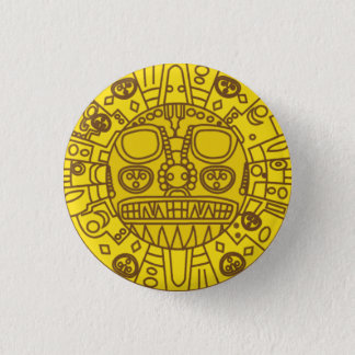 Cuzco Coat of Arms 3 Cm Round Badge