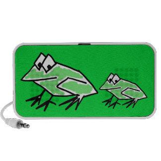 CV- Funny Frog Speaker Design