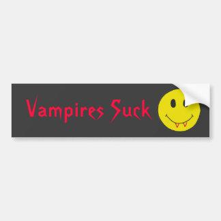 CV- Funny Vampires Suck Bumper Sticker