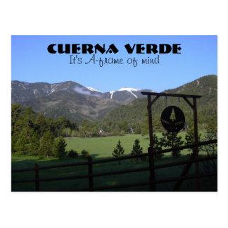 CV_RYE AFRAME, Cuerna Verde, It's A-frame of mind Postcard