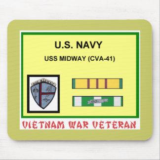 CVA-41 MIDWAY VIETNAM WAR VET MOUSE PAD
