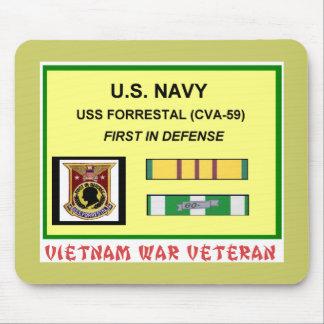 CVA-59 FORRESTAL VIETNAM WAR VET MOUSE PAD