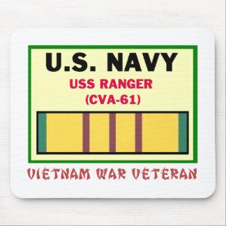 CVA-61 RANGER VIETNAM WAR VET MOUSE MAT