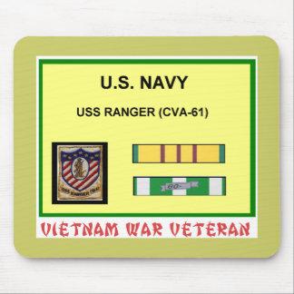 CVA-61 RANGER VIETNAM WAR VET MOUSE PAD