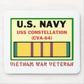 CVA-64 CONSTELLATION VIETNAM WAR VET MOUSE PAD