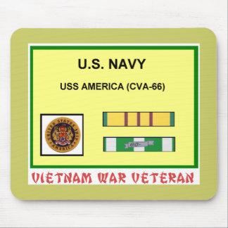 CVA-66 AMERICA VIETNAM WAR VET MOUSE MATS