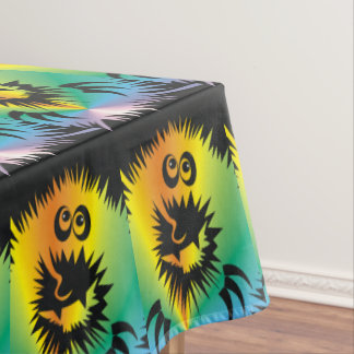 CVAn0053 Fuzzy Monster Tablecloth