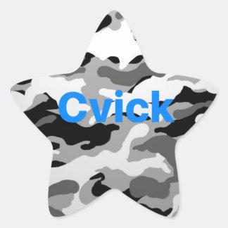 CVikk sticker | camouflage
