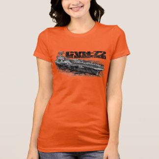 CVN-72 Abraham Lincoln Women's American Apparel F T-Shirt