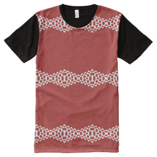 CVPA20031 Red Afternoon Bubbles All-Over Print T-Shirt
