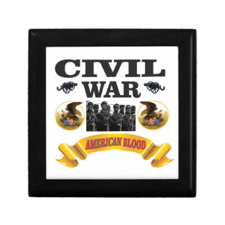 cw american blood red small square gift box