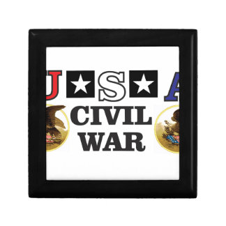 cw double eagle image small square gift box