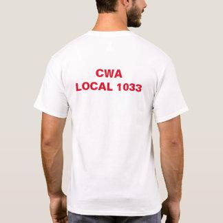 CWA Local 1033, New Jersey Union T-Shirt