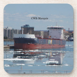 CWB Marquais set of 6 hard plastic coasters