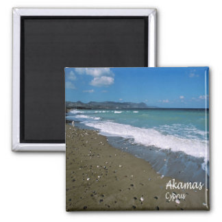 CY - Cyprus - Akamas Square Magnet