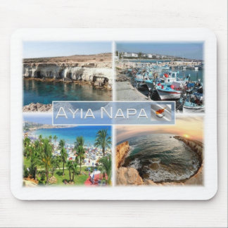 CY Cyprus - Ayia Napa - Caves Port - Mouse Pad