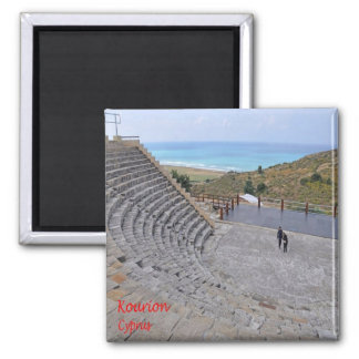 CY - Cyprus - Kourion Square Magnet