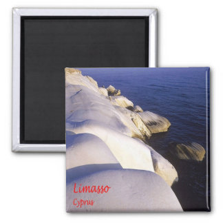 CY - Cyprus - Limasso Square Magnet