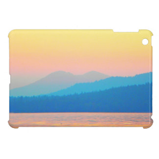 Cyan and Salmon Sunset Case For The iPad Mini