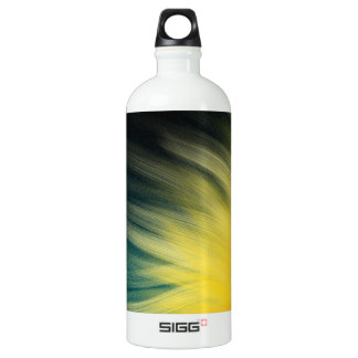 Cyan Atmospheric Flames - SIGG Water Bottle